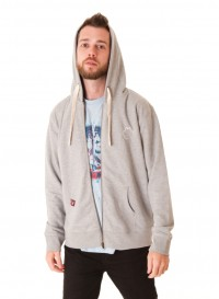 Male Hoodie - Heather Grey
