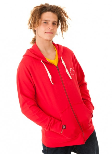 Male Hoodie - Red